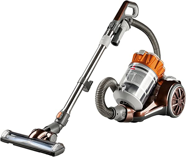 Bissell Hard Floor Expert Multi Cyclonic Bagless Canister Vacuum 1547 Corded