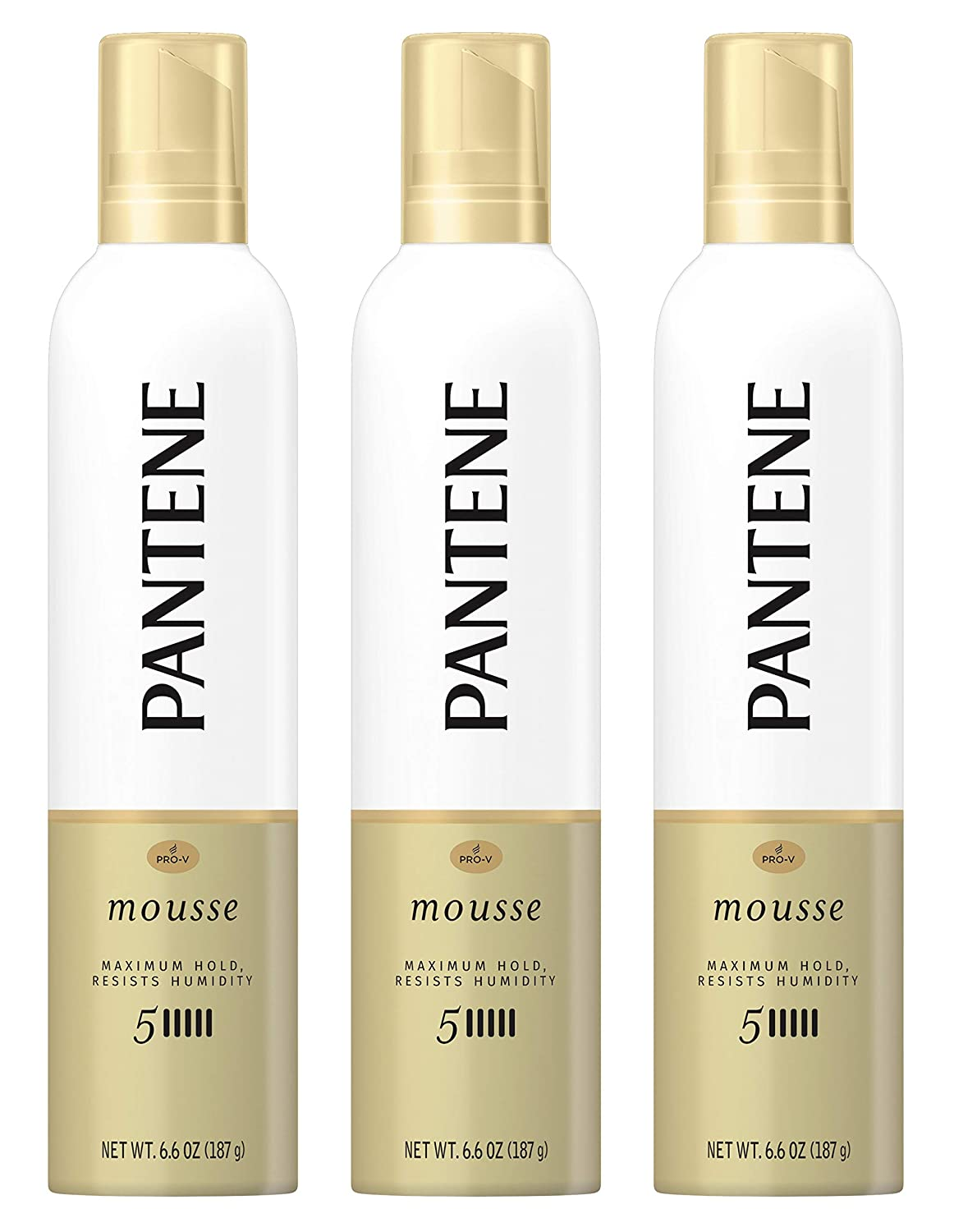 Pantene Pro-V Hair sale Mousse - Ranking TOP3 Hold Maximum Humidity 5 Resists