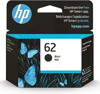 Original HP 62 Black Ink Cartridge | Works with HP ENVY 5540, 5640, 5660, 7640 Series, HP OfficeJet 5740, 8040 Series, HP ...