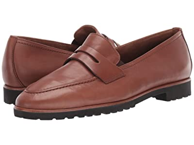 Paul Green Billy Loafer (Nougat Leather) Women