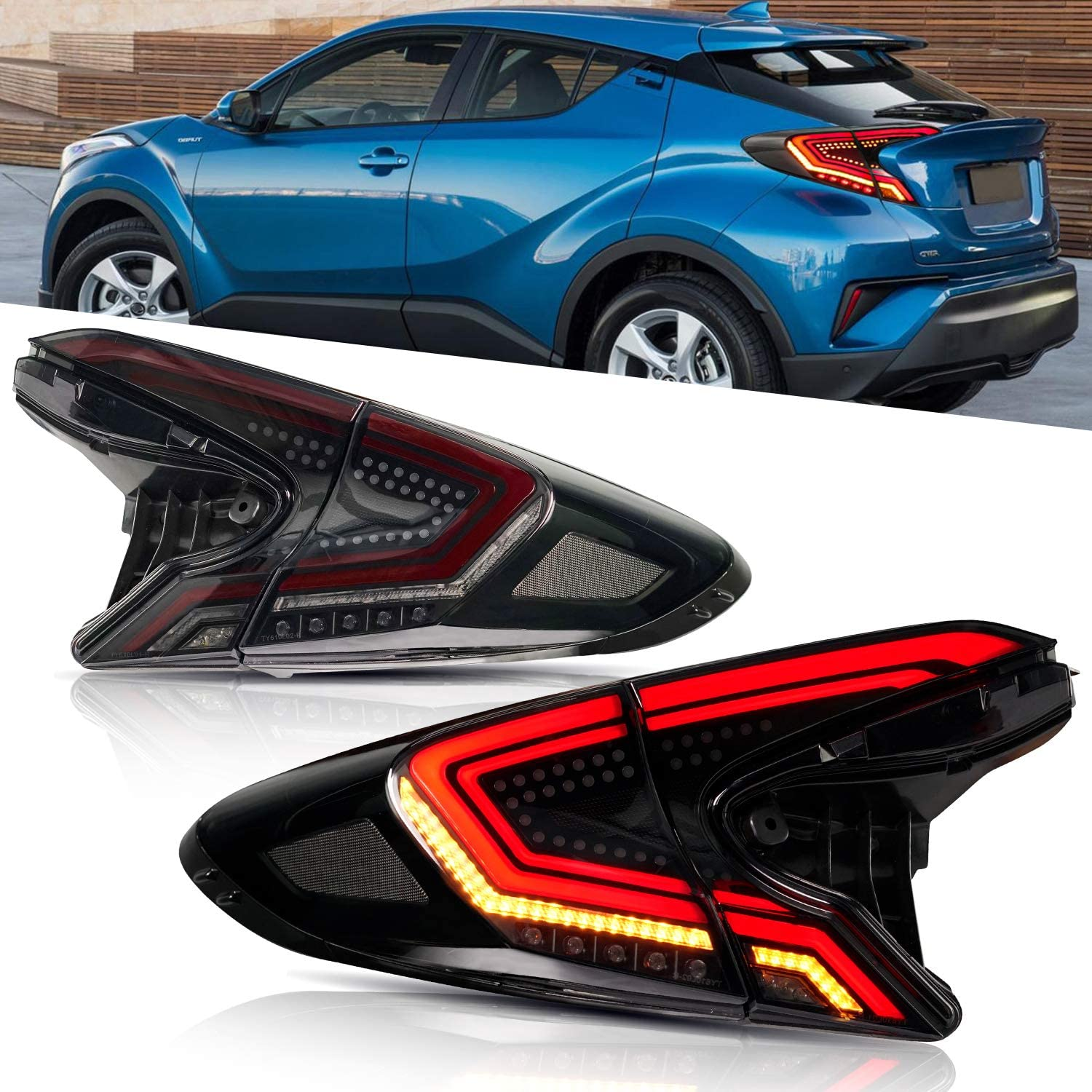For Toyota store CH-R Tail Light Assembly Ranking TOP10 IZ Suitable for