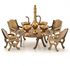 SAARTHI Unique Design Dining Table Chair Maharaja Set -196