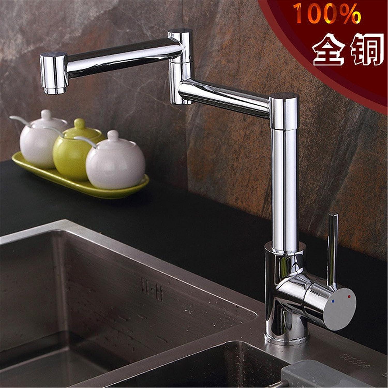 MIAORUI Copper creative kitchen mixed water corner dish single wrench type faucet