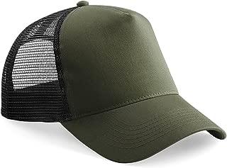 Mens Half Mesh Trucker Cap/Headwear