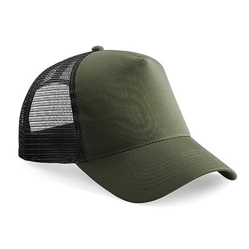 Beechfield Mens Half Mesh Trucker Cap/Headwear