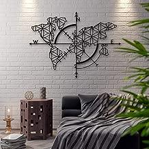 Amazonfr Carte Du Monde Murale Pendules Murales