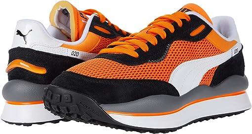 Vibrant Orange/Puma Black