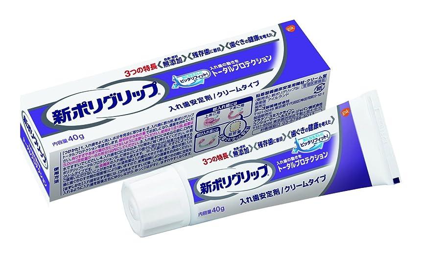 形式賛辞代表部分?総入れ歯安定剤 新ポリグリップ トータルプロテクション (残存歯に着目) 40g