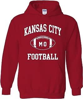 City Classic Football Arch American Football Team Sports Hoodie