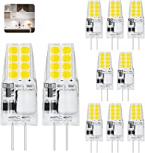 G4 LED Light Bulb B-pin Base 5000K Daylight 2W (20W Halogen Equivalent) AC/DC 12V,360° Beam Angle,220LM,Winshine G4 LED Bu...