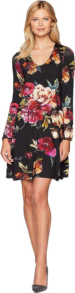 Floral Taylor Dress