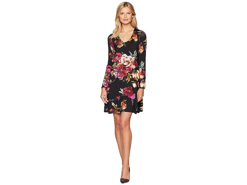 Karen Kane Floral Taylor Dress (Print) Women