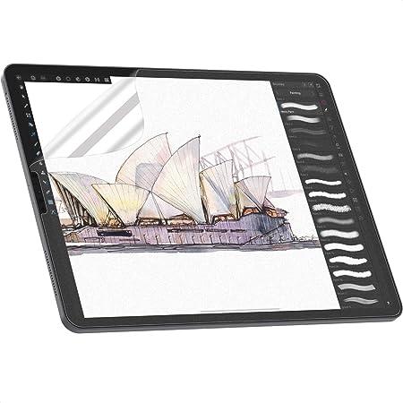 NIMASO PETペーパー 紙ライク フィルム iPad Pro 11 (2021 / 2020 / 2018) / iPad Air4 用 保護 フィルム 上質紙タイプ アンチグレア 反射低減