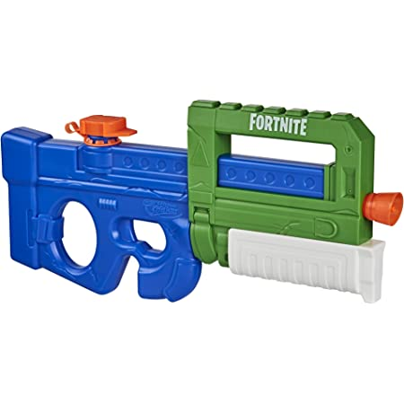 SUPERSOAKER Nerf Super Soaker Fortnite Compact SMG Water Blaster -- Pump-Action Water-Drenching Fun -- for Youth, Teens, Adults