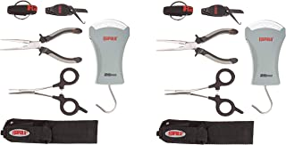 Rapala Combo Pack 6 1/2 Pliers / 5 1/2 Forceps / 25 lb.Scale/Clipper/Sheath (Pack of 2)
