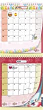 2020-2021 2 Month Wall Calendar by StriveZen, Move-a-Page, 2 Month View, Foldable, Vertical, April 2020 - December 2021, 11 x 27 Inches, Holiday Style, Big Ruled Daily Blocks, Home-Office