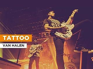 Tattoo in the Style of Van Halen