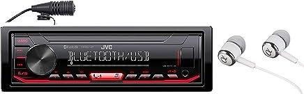 JVC KD-X260BT Built-in Bluetooth, AM/FM, USB, MP3