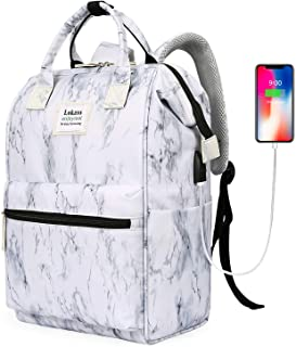 BRINCH Laptop Backpack 15.6 Inch Wide Open Computer Backpack Laptop Bag College Rucksack Water Resistant Business Travel B...