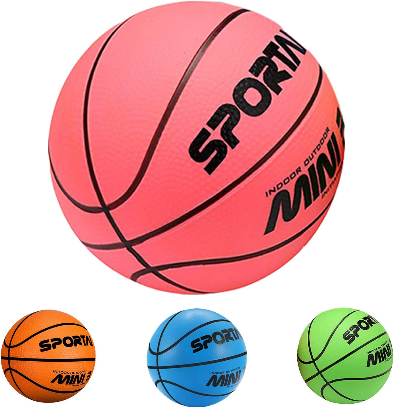 Stylife Mini Basketballs for Kids - 1 PCS Basketball - First Bas