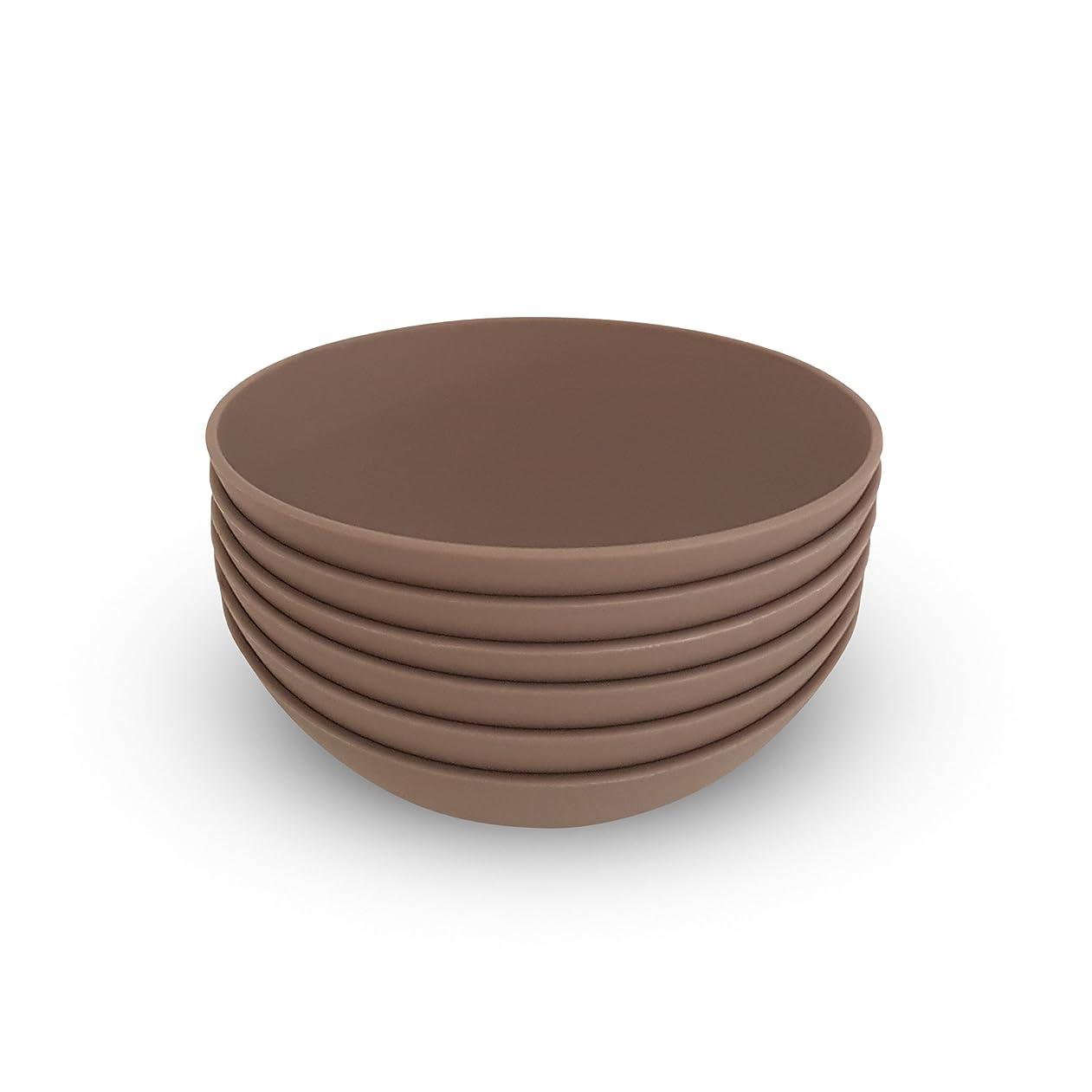 説明するよろしくアレキサンダーグラハムベルCOZA design- Cozy Large Bowl set- 17?oz Set of 6 グレー