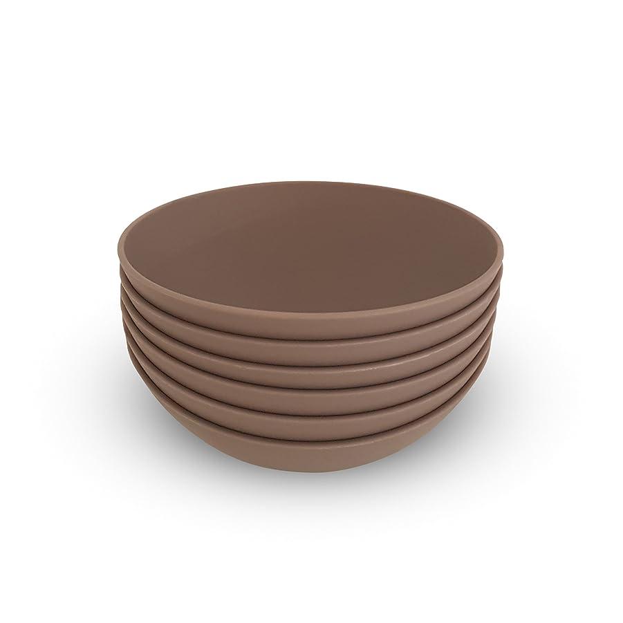飛行場指精査COZA design- Cozy Large Bowl set- 17?oz Set of 6 グレー