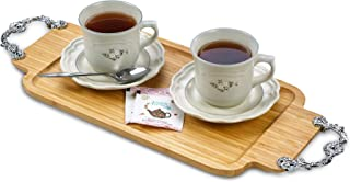 Best metal serving tray with handles Reviews