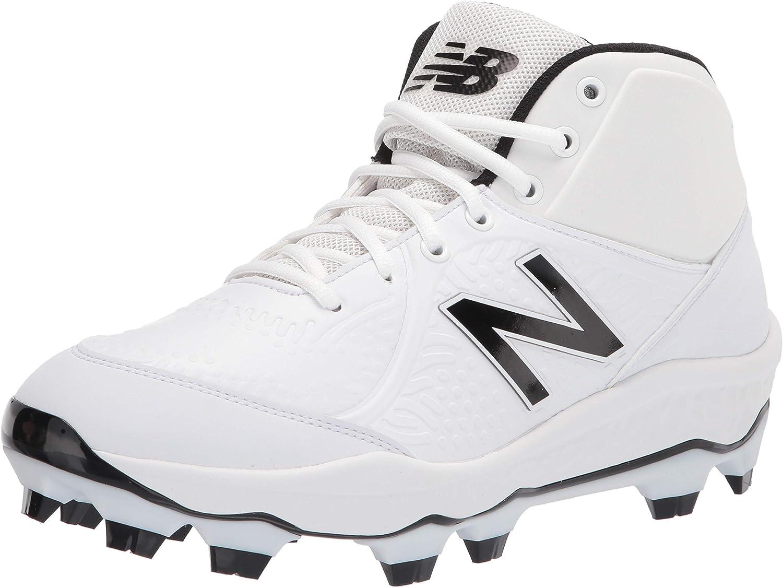 Fashionable New Balance Men's Fresh Foam 3000 Baseball Cut Mid Molded V5 High material TPU