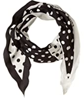 Kate Spade New York - Lia Dot Diamond Scarf