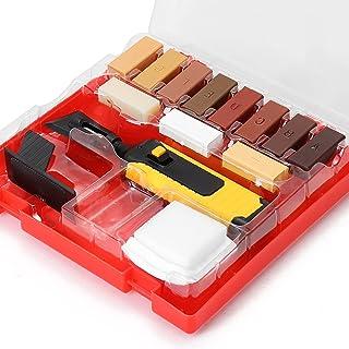 Kit Reparation Parquet, otutun Kit de Réparation de Stratifié Kit d'outils de Réparation de Carrelage en Céramique, 11 Cou...