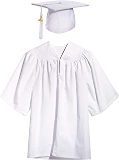 Preschool Graduation Cap, Gown, Tassel, Sash, Ring, Certificate (Machine Wash)