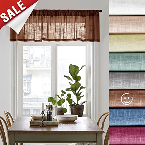 Window Valances For Living Room Windows Amazoncom