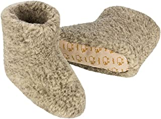 100% Pure Sheep Wool Slippers Cosy House Shoes Boots