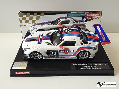 Carrera 4007486238251 Mercedes AMG SLS GT3 Martini No.33