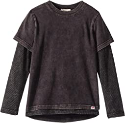 Soft Twofer Long Sleeve Tee (Toddler/Little Kids/Big Kids)