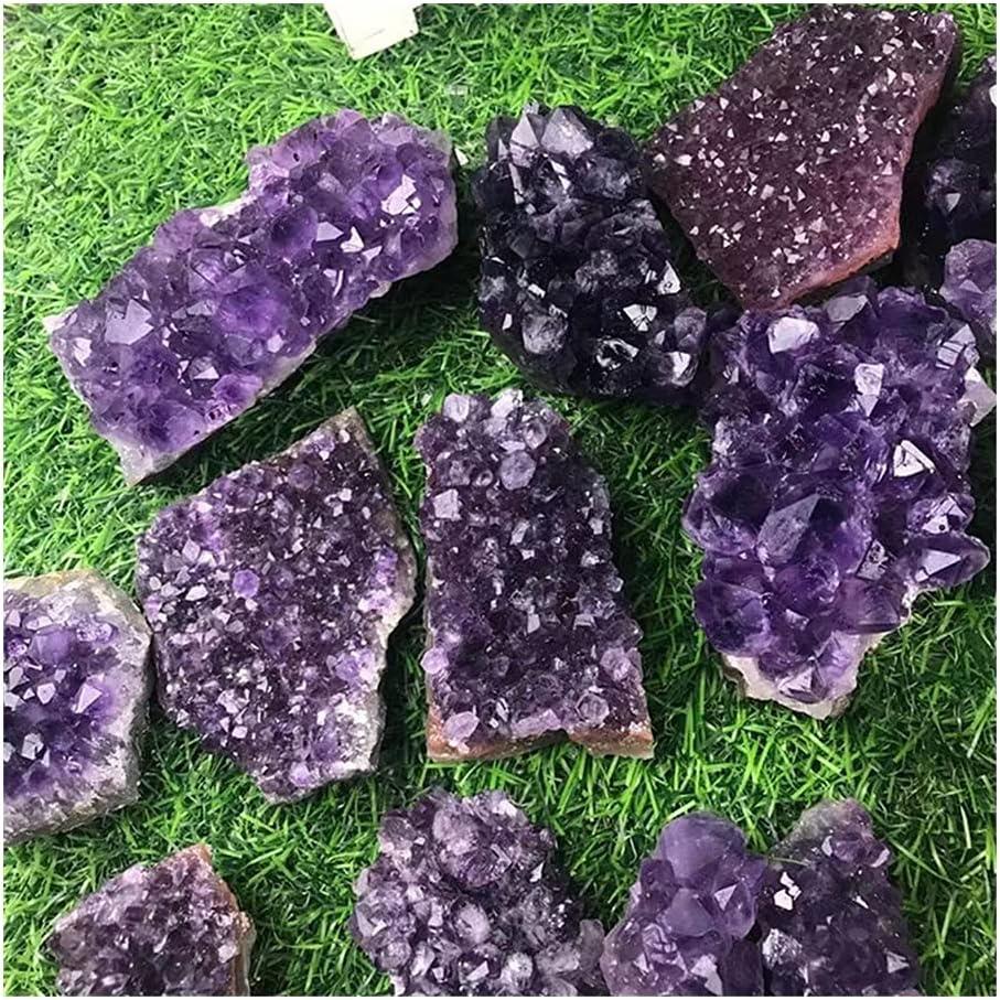 sousy Natural 55% OFF Amethyst geode Quartz Specimen Austin Mall Cluster Hea Crystal