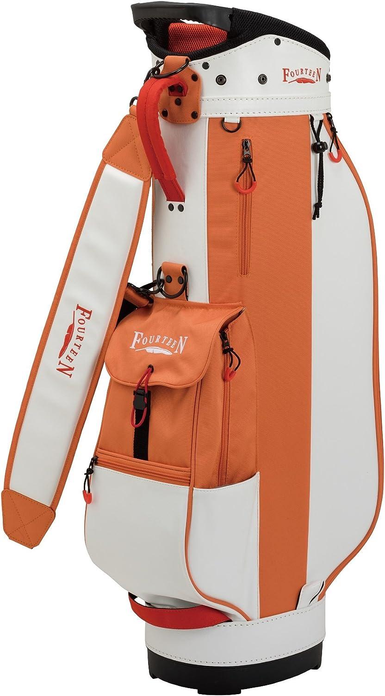 FOURTEEN (Fourteen) caddy bag CB0107 Caddy Men's orange Material  Polyester