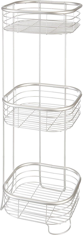 iDesign Max 89% OFF Forma Metal Wire Corner Caddy Standing 4 years warranty Bath Shel Shower