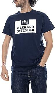 2c294358f2 Weekend Offender - Prison - Navy Blue - T-Shirt