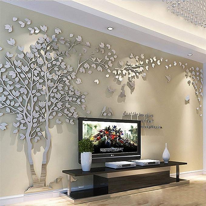 875 opinioni per Albero Adesivo da Parete, Alberi e Uccelli 3D Adesivi Murali Arts Wall Sticker