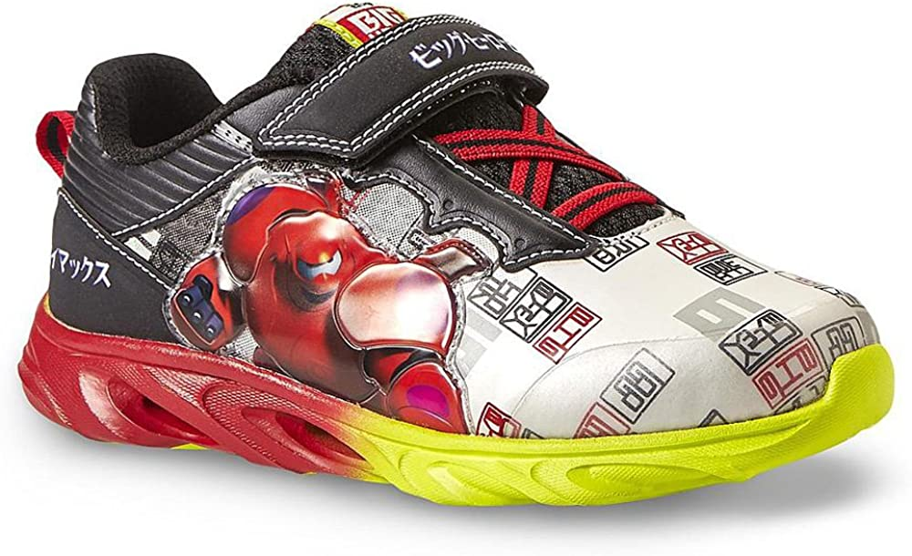 Disney Big Hero 6 Black White Red Sneaker