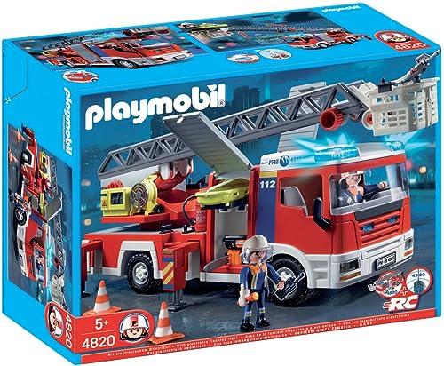 ventas calientes Playmobil - - - Camión de Bomberos con Escalera (4820)  calidad garantizada