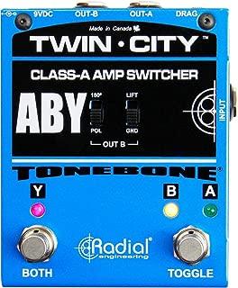 Radial Bones Twin City ABY Amp Switcher (Renewed)