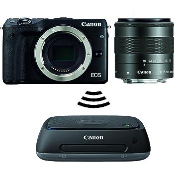 Canon EOS M3-EF-M(18-55mm) IS STM Juego de estación Connect CS100 ...