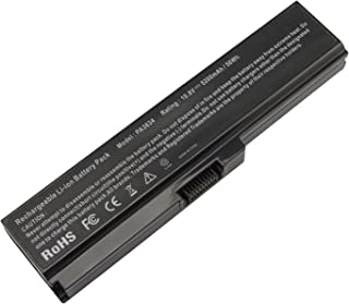 Futurebatt 5200mAh Laptop Battery for Toshiba Satellite C655-S5082 L655-S5072 L655-S5150 L655-S5115 L310 L650 L655 L655D L670 A660 A665 C655 U400 U405D T130