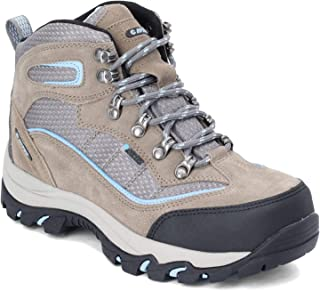 HI-TEC Womens Halona Mid Brown Hiking Shoes Size 5