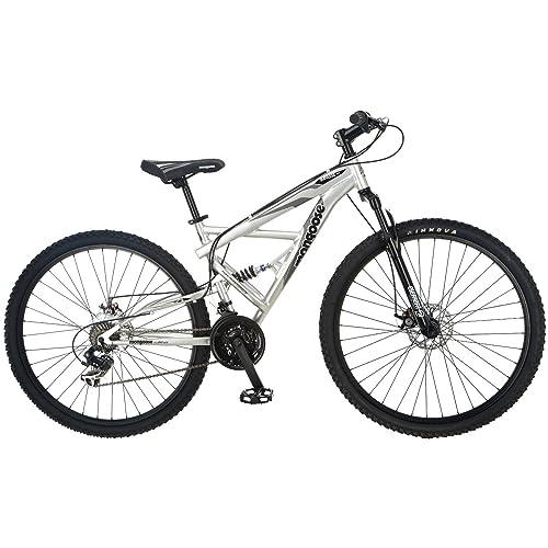 Mongoose Premium Bikes for Men and Women Mountain Bike Adult Bicycle Recreational Bicycles Dual Suspension