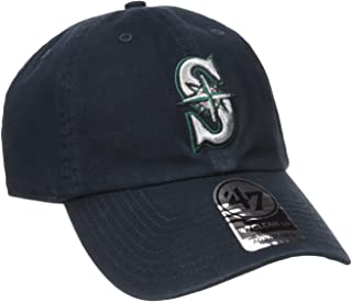 Seattle Mariners Clean Up Adjustable Cap (Navy, One-Size) (For Adults)