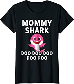 Womens Pinkfong Mommy Shark Official T-shirt