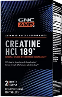 Sponsored Ad - GNC AMP HCl 189, 120 Tablets